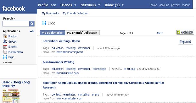 install facebook account